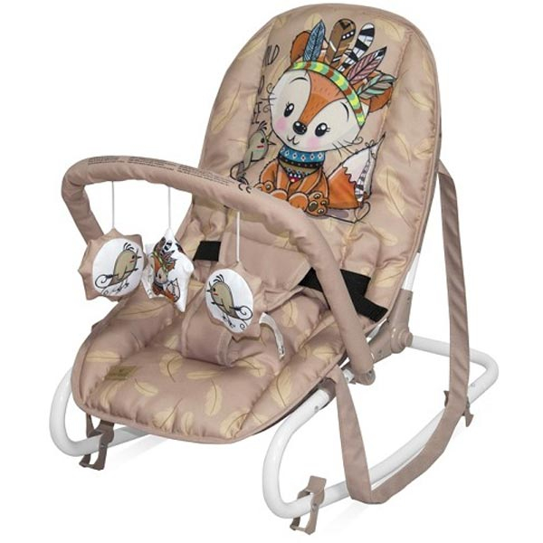Ležaljka Top Relax Beige Foxy 10110022042 - ODDO igračke