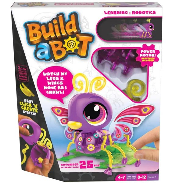 Build A Bot Butterfly edukativni set 20x25cm 72156 - ODDO igračke