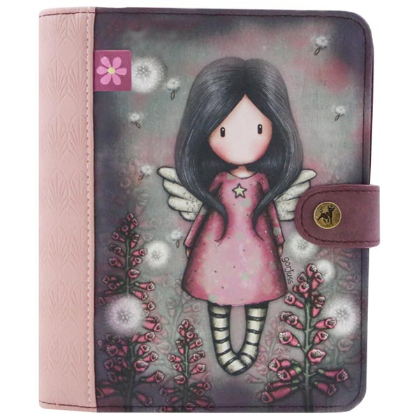 Dnevnik sa kopčom 15,7x18,8cm Little Wings Gorjuss 1036GJ02 - ODDO igračke