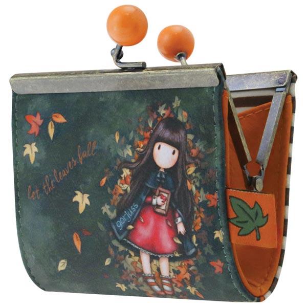 Novčanik za sitan novac s kopčom Autumn Leaves Gorjuss 972GJ01 - ODDO igračke