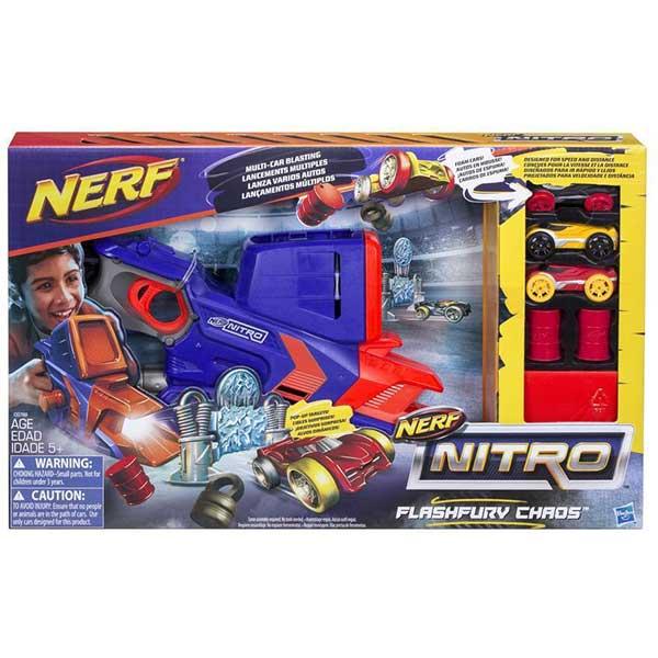 Nerf Nitro Flash Fury chaos ispaljivač 374229 - ODDO igračke