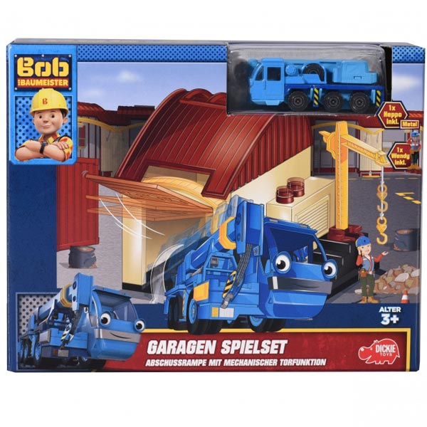 Bob the Builder Garaža Set Dickie Toys 051463 - ODDO igračke