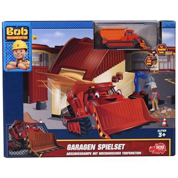 Bob the Builder Garaža set sa Leom I Loftijem 051524 - ODDO igračke
