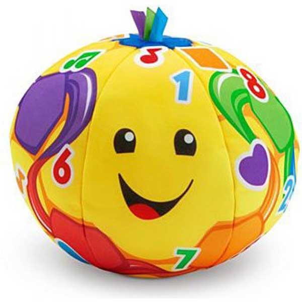 Fisher Price Plišana lopta sa zvukom 17cm FTC99 - ODDO igračke
