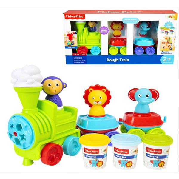 Fisher Price vozić sa plastelinom i modlicama 056463 - ODDO igračke
