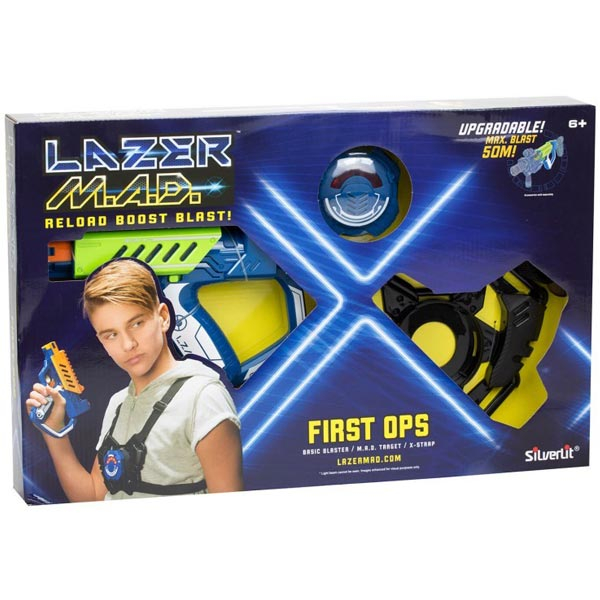 Lazer MAD First Ops Set Electronic Laser Weapon 868446 - ODDO igračke