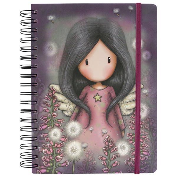 Notes sa spiralom i gumicom Little Wings Gorjuss 767GJ04 - ODDO igračke