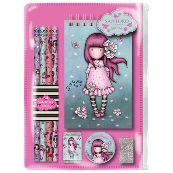 Set za pisanje Cherry Blossom Gorjuss 1038GJ02 - ODDO igračke