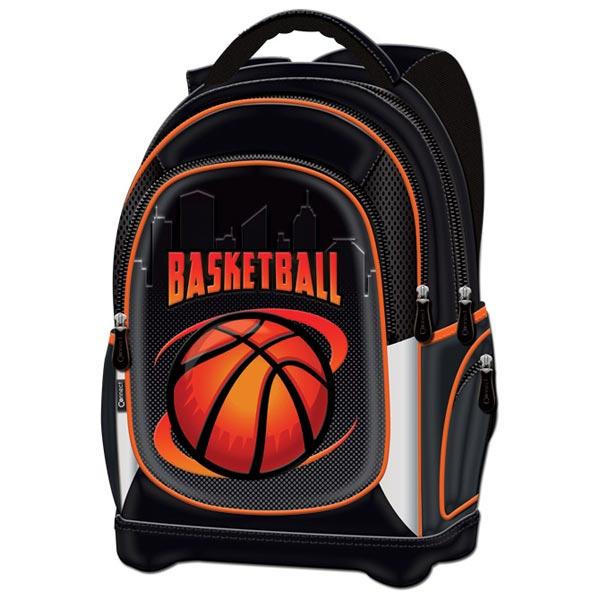 Ranac đački anatomski lagan Basketball Team 20.Connect 41966 crno-narandžasti - ODDO igračke