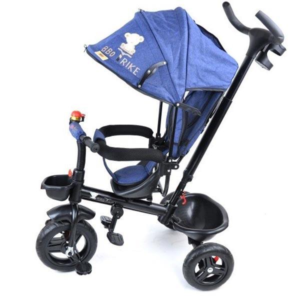 Tricikl BBO Sportisimo Plus plavi BT-88 901697 - ODDO igračke