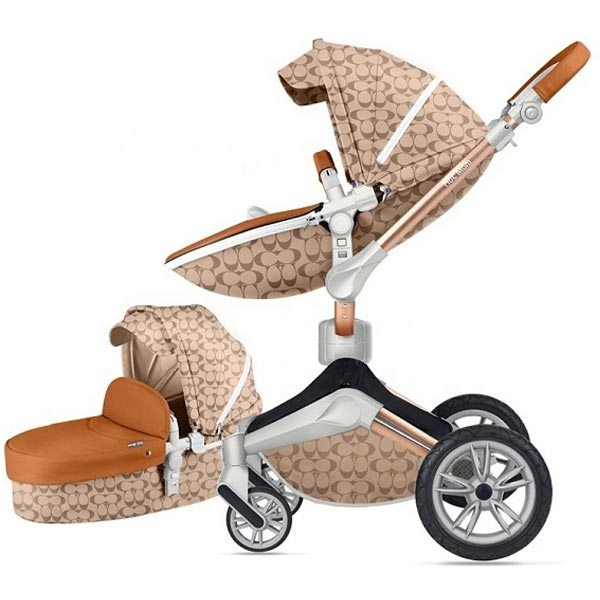 Kolica Hot Mom Light Brown 2U1 (sportsko sediste+korpa) F023LBROWN - ODDO igračke