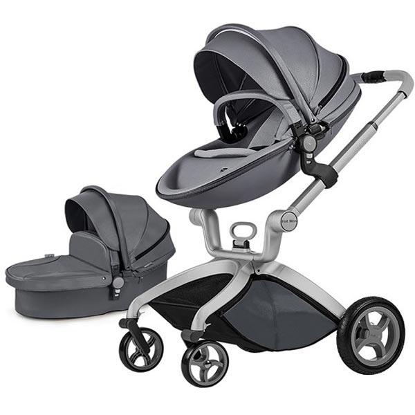 Kolica Hot Mom Dark Grey 2U1 (sportsko sediste+korpa) F22D.GREY - ODDO igračke