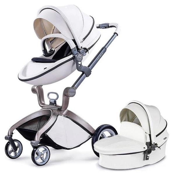 Kolica Hot Mom White 2U1 (sportsko sediste+korpa) F22WHITE - ODDO igračke