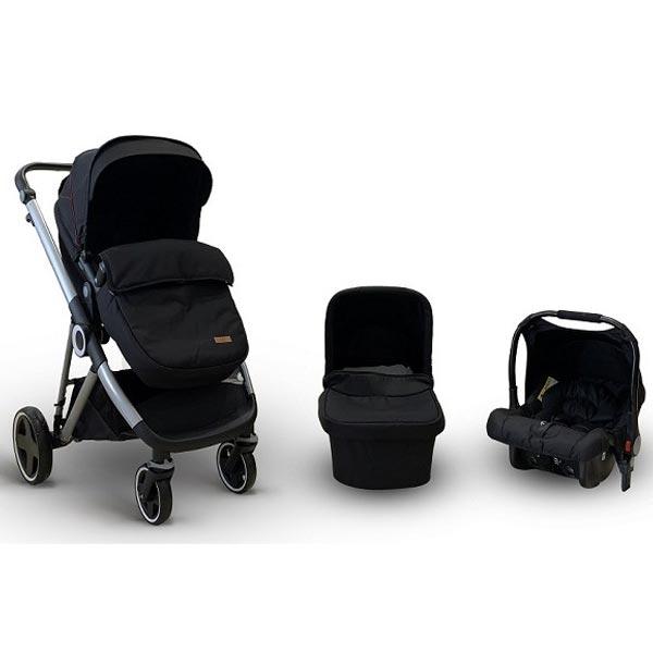 Kolica Baby Bear Origin - Urban Life 3U1 - Black T900BLACK - ODDO igračke
