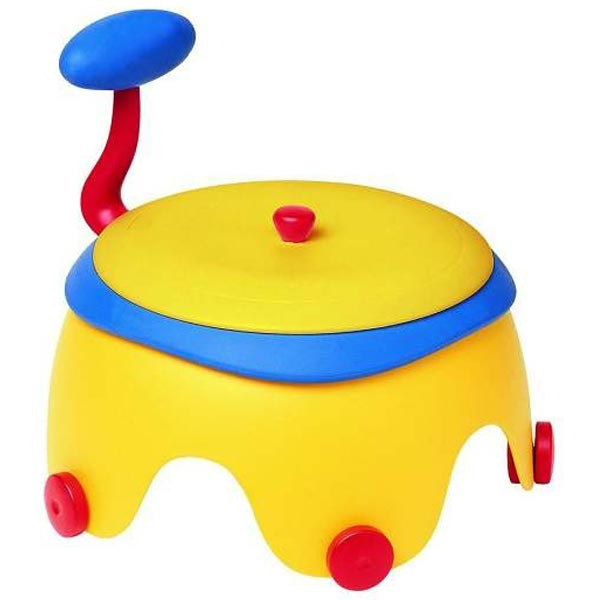 POPY POTTY-Chair yell/red/blue - noša 9700029140 - ODDO igračke
