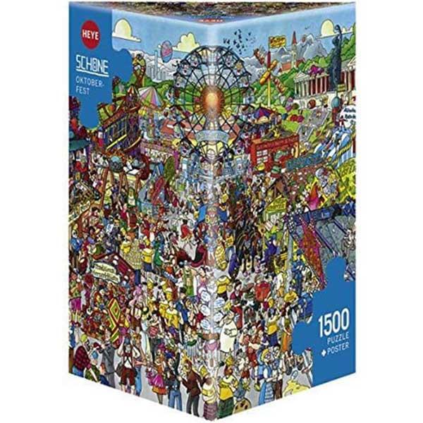 Heye puzzle 1500 pcs Oktoberfest 29842 - ODDO igračke