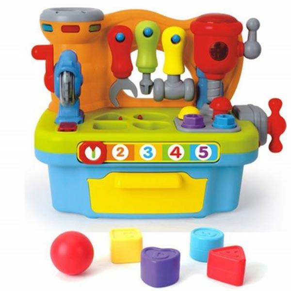 Mala muzička radionica sa alatima/blokovima HOLA907 - ODDO igračke