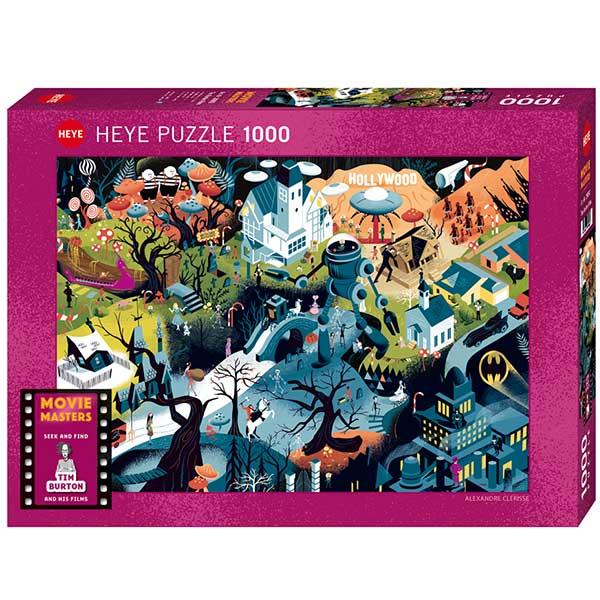 Heye puzzle 1000 pcs Movie Masters Tim Burton Films 29882 - ODDO igračke