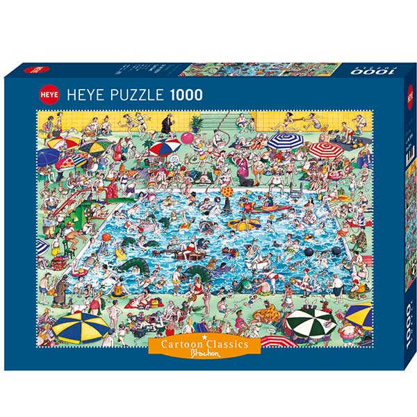 Heye puzzle 1000 pcs Cartoon Classics Blachon Cool Down 29904 - ODDO igračke