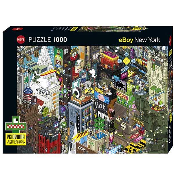 Heye puzzle 1000 pcs News New York Quest 29914 - ODDO igračke
