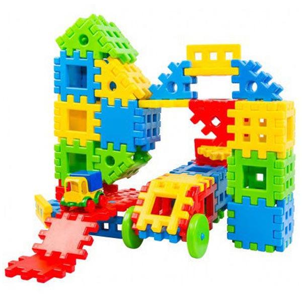 Edukativna igračka Poveži konstrukciju set od 55 delova 39378 - ODDO igračke