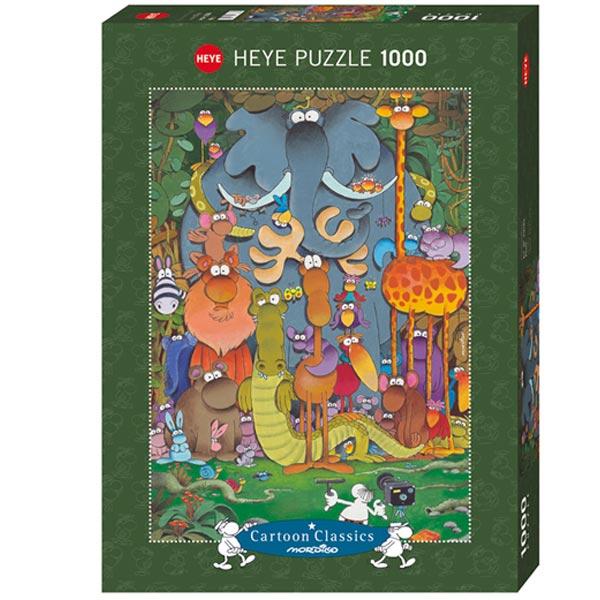 Heye puzzle 1000 pcs Cartoon Classics Guillermo Mordillo Photo 29284 - ODDO igračke