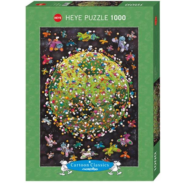 Heye puzzle 1000 pcs Cartoon Classics Guillermo Mordillo Football 29359 - ODDO igračke