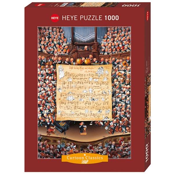 Heye puzzle 1000 pcs Cartoon Classics JeanJaques Loup Score 29564 - ODDO igračke