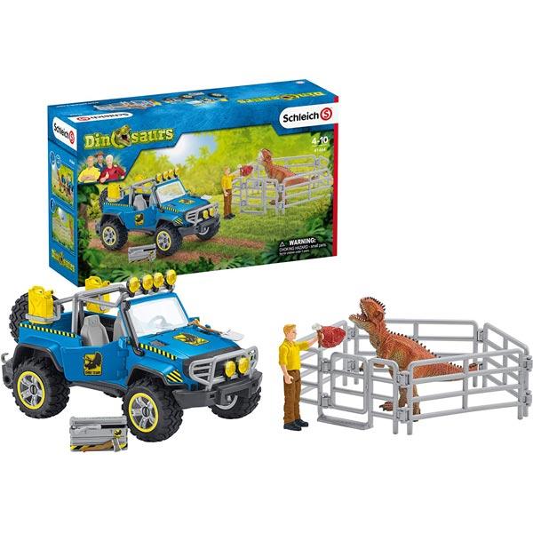 Schleich Vozilo za obilazak dinosaurusa 41464 - ODDO igračke