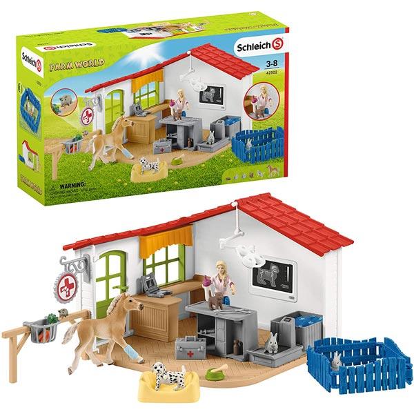 Schleich Veterinarska stanica 42502 - ODDO igračke