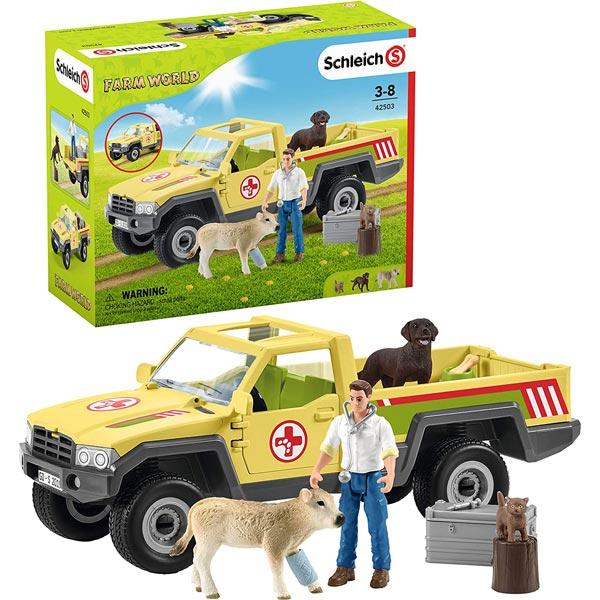 Schleich Veterinarska poseta farmi 42503 - ODDO igračke