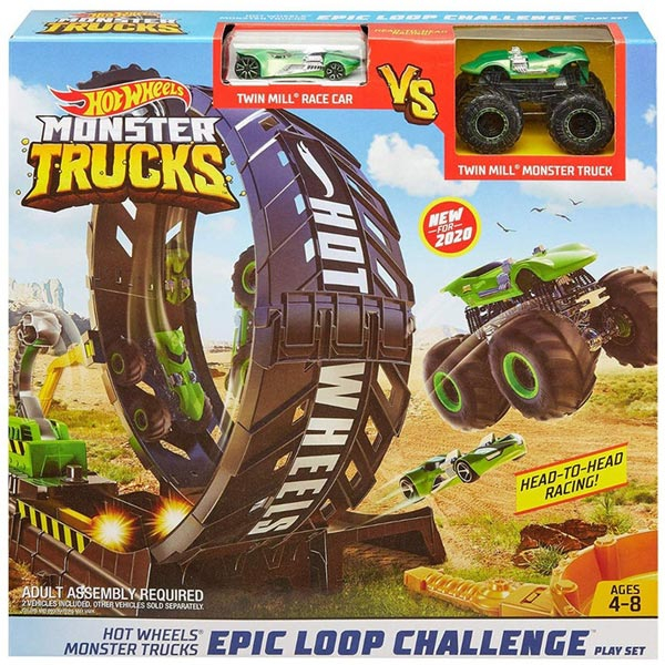 Hot Wheels Monster Staza Epic Loop Challenge GKY00 - ODDO igračke