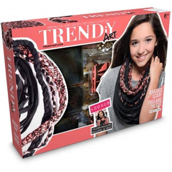 Trendy Art Set za pletenje ukrasnog sala oko vrata Goliath 33.066.006 - ODDO igračke