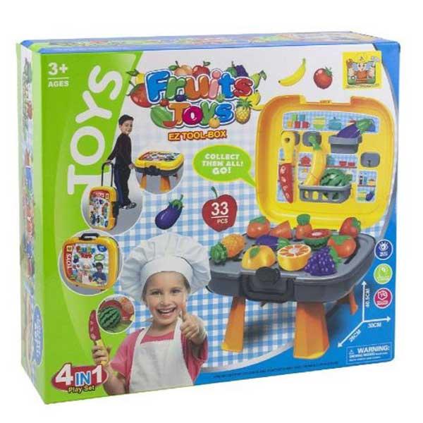 Roštilj set 4 in 1 BE677884 - ODDO igračke