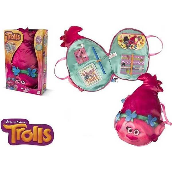 Trolls mekani jastuk sa zvučnikom - Tajni dnevnik  IMC235014 - ODDO igračke