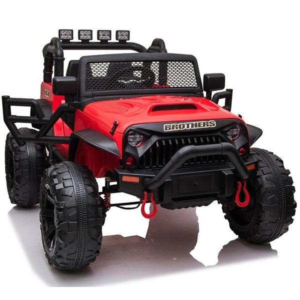 Džip na akumulator crveni 12V7Ax1+2 JC666 11/7666 - ODDO igračke