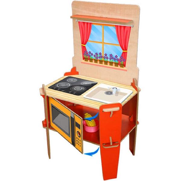 Drvena kuhinja set Matrax 004226 - ODDO igračke