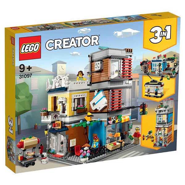 Lego Creator - Townhouse Pet Shop Caf LE31097 - ODDO igračke