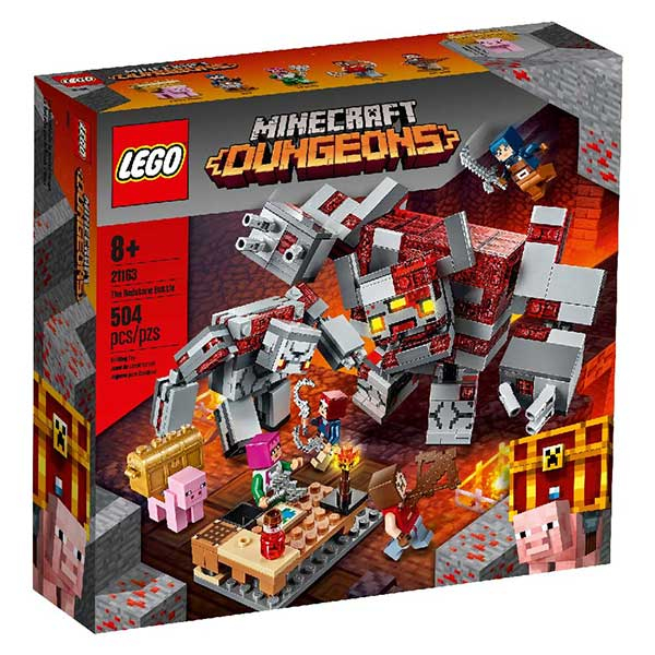 Lego Minecraft - Game The Redstone Battle LE21163 - ODDO igračke