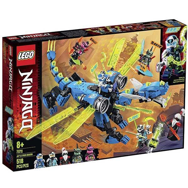 Lego Ninjago - Jays Cyber Dragon LE71711 - ODDO igračke
