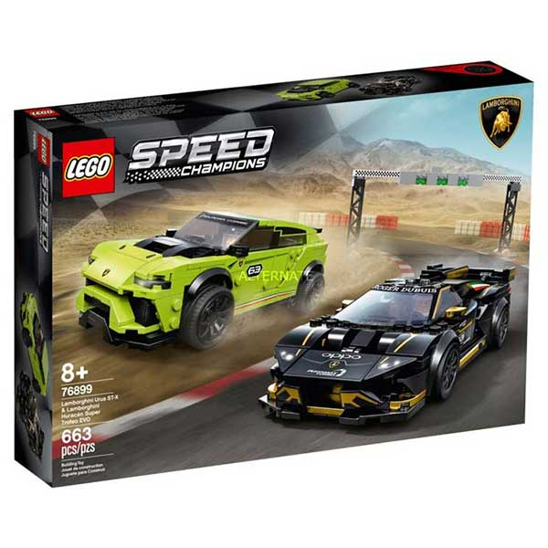 Lego Speed Lamborgini Urus ST-X LE76899 - ODDO igračke