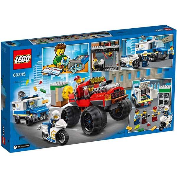 Lego City - Police Monster Truck Heist LE60245 - ODDO igračke