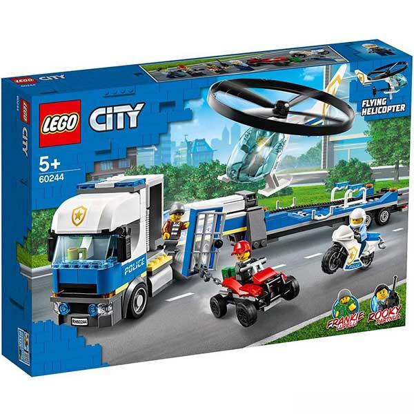 Lego City - Police Helicopter Transport LE60244 - ODDO igračke
