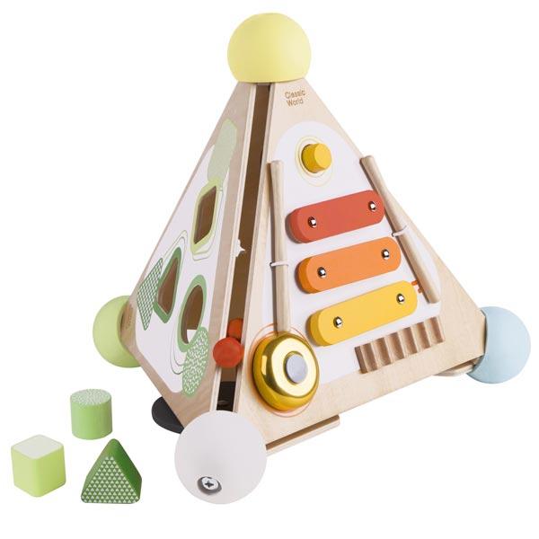 Classic World Pyramid Activity Box 54723 - ODDO igračke