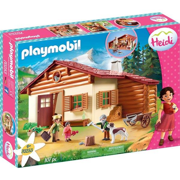 Playmobil Heidi - Planinska Kuća PM-70253 - ODDO igračke