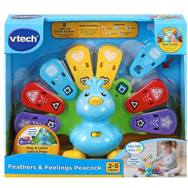 Vtech Interaktivni Paun 23720 - ODDO igračke