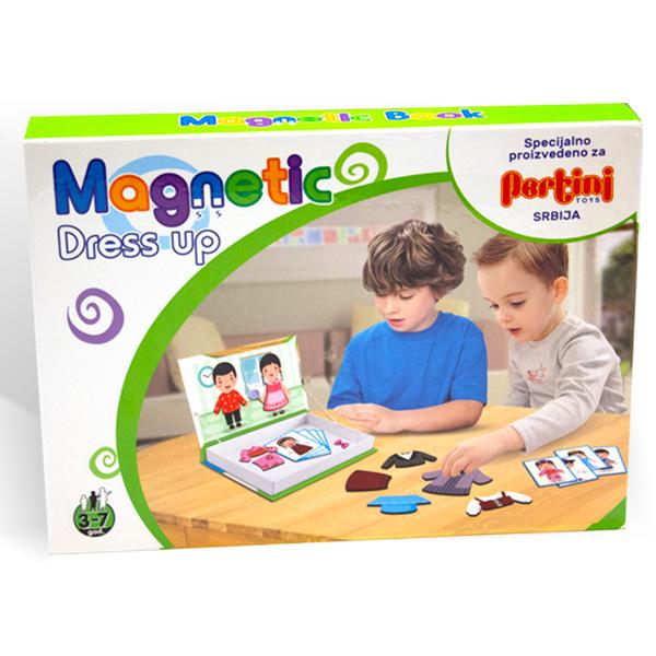 Magnetni set- oblačenje 23362 - ODDO igračke