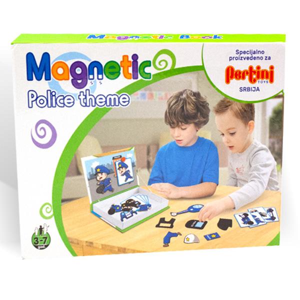 Magnetni set- policija 23364 - ODDO igračke