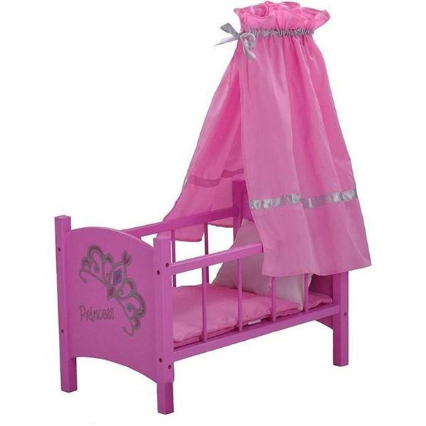 Krevetac za lutke drveni Diadem 67224 - ODDO igračke