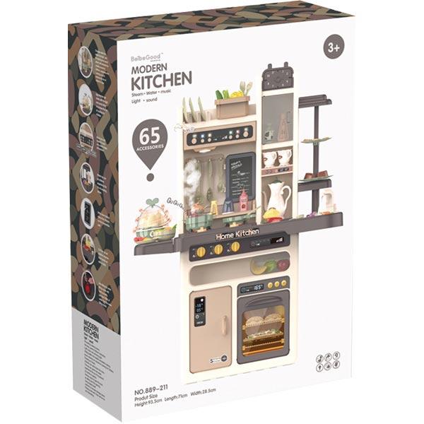 Kuhinja moderna 65 elemenata 889-211 - ODDO igračke